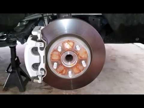 2011 2015 Dodge Durango Suv Checking Front Brakes