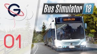 BUS SIMULATOR 18 FR #1 : Devenir chauffeur de bus