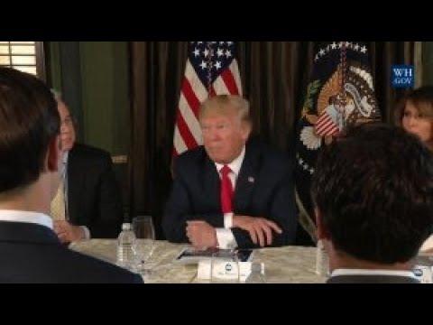 President Trump Addresses The Opioid Crisis In America
