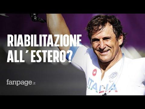 Alex Zanardi, ipotesi estero per proseguire la riabilitazione in clinica all'avanguardia