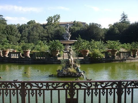 Places To See In ( Florence - Italy ) Boboli Gardens