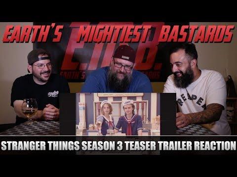 Trailer Reaction: STRANGER THINGS Season 3 Teaser