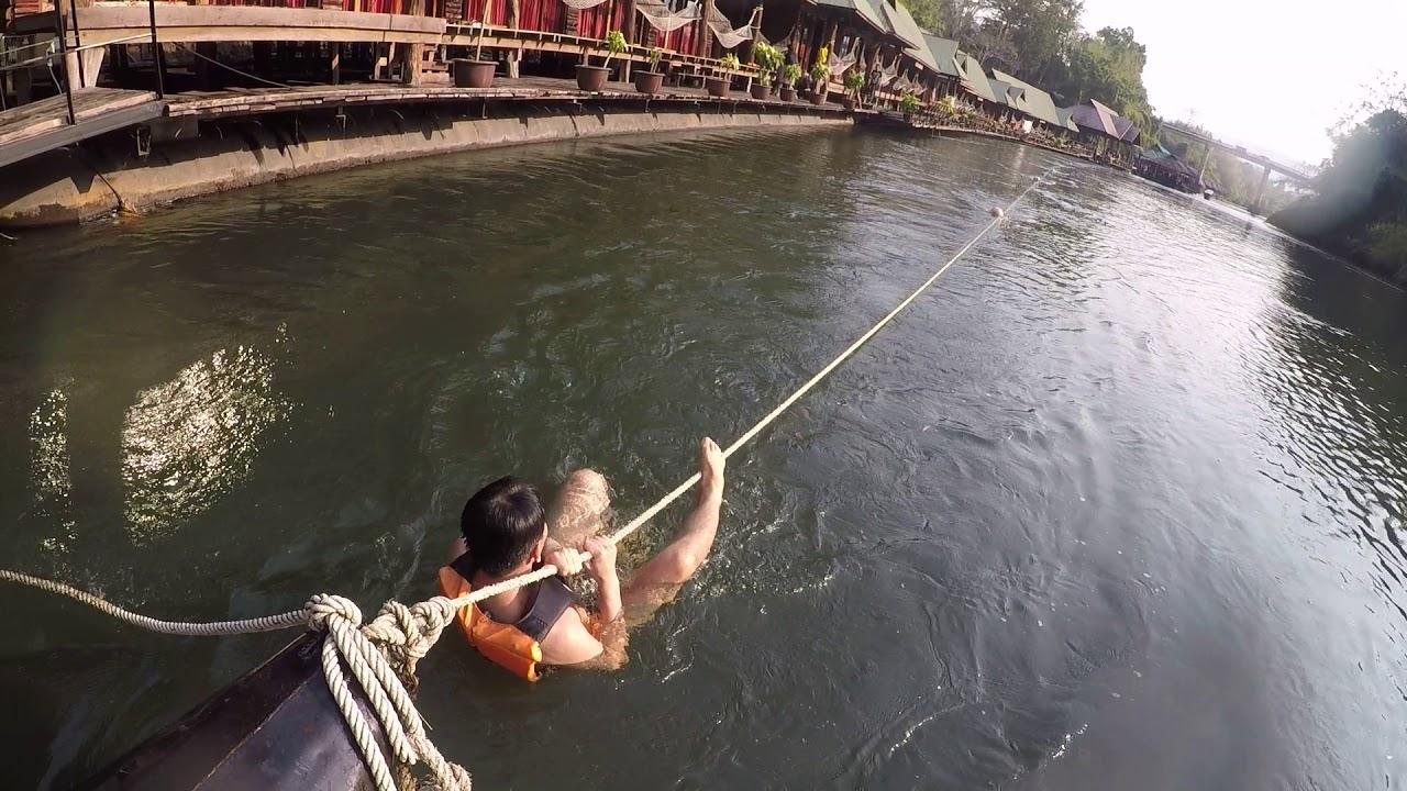 สไลเดอร์ ล่องแพกาญจนบุรี เที่ยวกาญจนบุรี รีสอร์ทกาญจนบุรี งานเสริมหลังเลิกงานโทร 0879997474