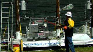 National Grid live-line safety demonstrations