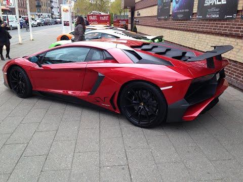Amazing Supercars in Copenhagen - Lamborghini, McLaren Combo