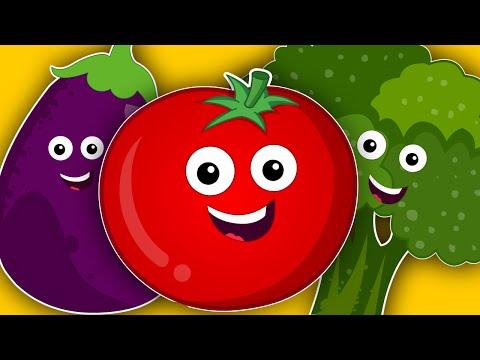 vegetables song   learn vegetables   nursery rhymes   kids songs   baby videos   kids tv