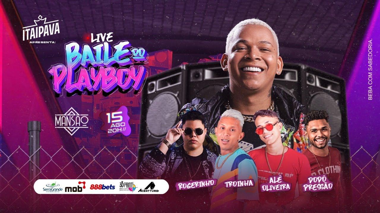 Live Baile Do Playboy - #FiqueEmCasa e Cante #Comigo