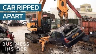 Vehicle Recycling System Pick Cars Apart With Precision thumbnail