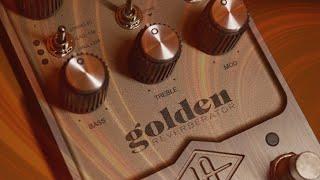 Sound Examples – UAFX Golden Reverberator