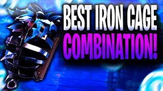 Best Iron Cage Back Bling Combo On Skins In Fortnite: Battle Royale