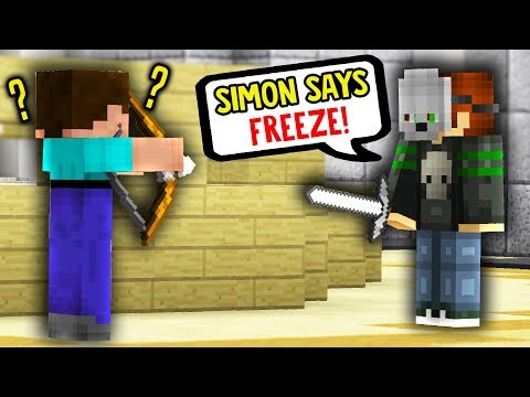 SIMON SAYS IN MINECRAFT MURDER MYSTERY!