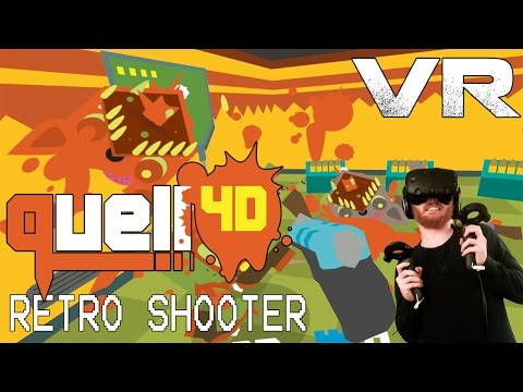 Quell 4D: VR retro shooter with Onward-style locomotion and deadly woodland creatures