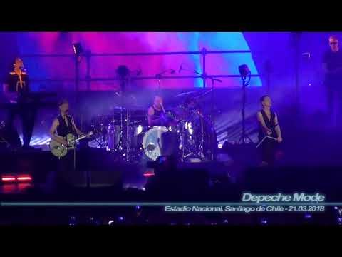 Depeche Mode - Enjoy the Silence ( Estadio Nacional, Santiago de Chile - 21.03.2018 )