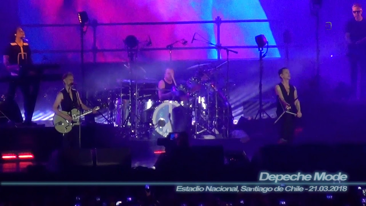Depeche Mode - Enjoy the Silence ( Estadio Nacional, Santiago de Chile - 21.03.2018 )