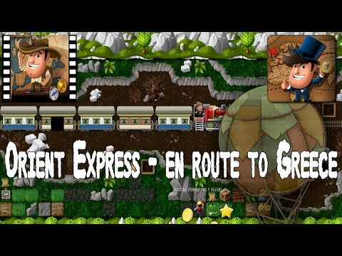 [~Around The World~] #1 Orient Express - En Route to Greece - Diggy's Adventure