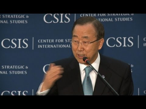 "Arab League ""crucial"" in Syria peace plan: Ban Ki-moon"