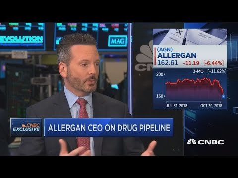 Allergan CEO on expanding Botox to millennial and Trump's drug pricing policy
