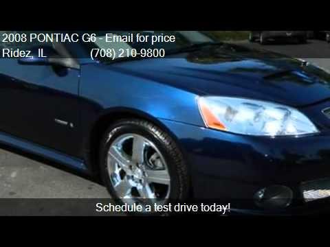 2008 PONTIAC G6 GXP 2dr Coupe for sale in Harvey, IL 60426 a
