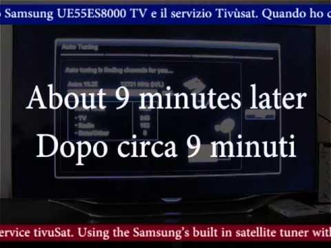 Problem watching tivuSat on Samsung UE55ES8000 / Problema guardando TivùSat  su Samsung UE55ES8000