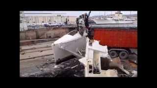 APPLISUB Dépollution,démantèlement et destruction LAGOON 500 la ciotat