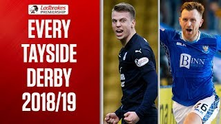 Dundee v St. Johnstone | This Season's Tayside Derby Highlights | Ladbrokes Premiership