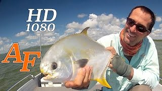 Fly Fishing Permit, Big Fish on Fly Rod, A great capture Fly Fishing EP.28