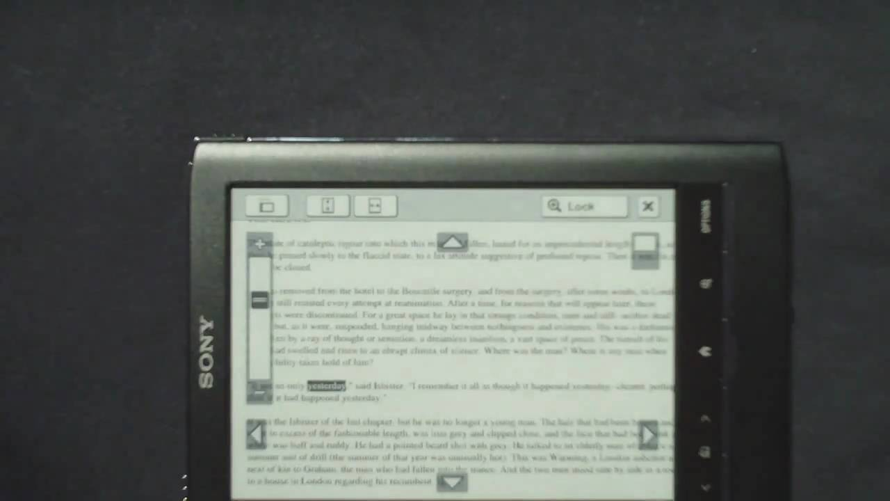 sony prs 650 pdf review touch edition youtube rh youtube com Word Manual Guide Word Manual Guide