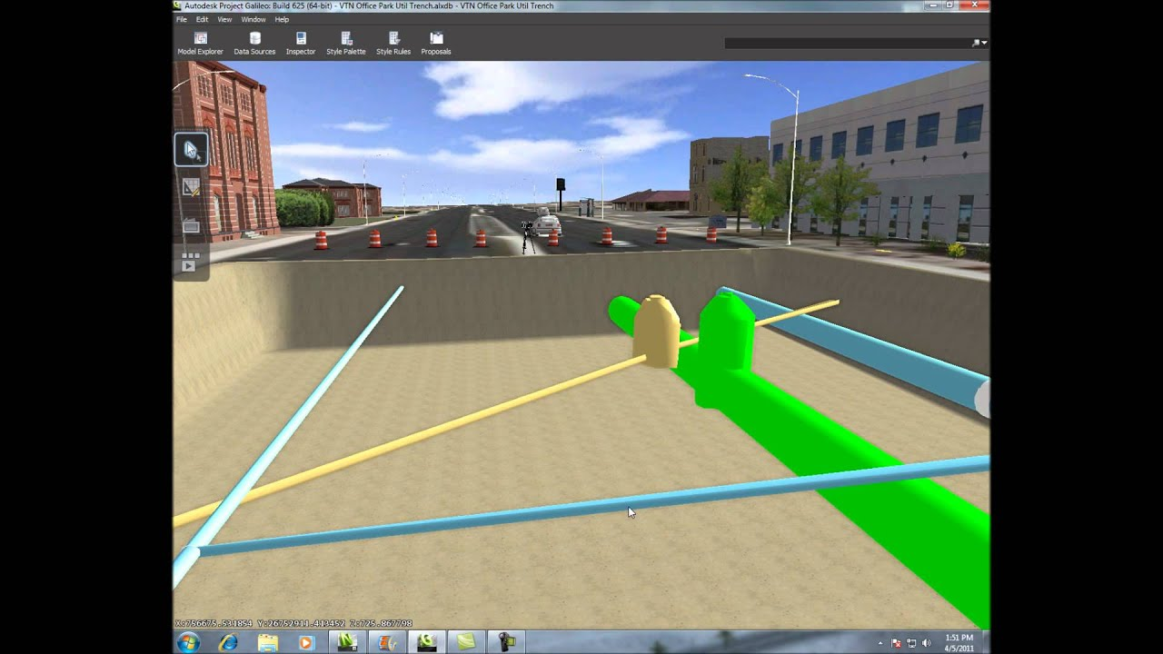 3D SUE Subsurface Utility Engineering - YouTube