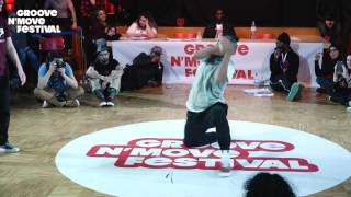 GROOVE'N'MOVE BATTLE 2017 - Tutting Final / Leïla vs Celso