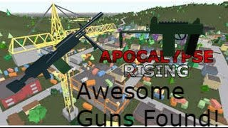 Awesome Gun Fights! | Apocalypse Rising ROBLOX