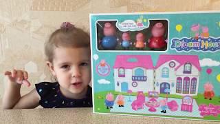 Играем в домик Свинки Пеппы  | Peppa Pig Unboxing and playing House