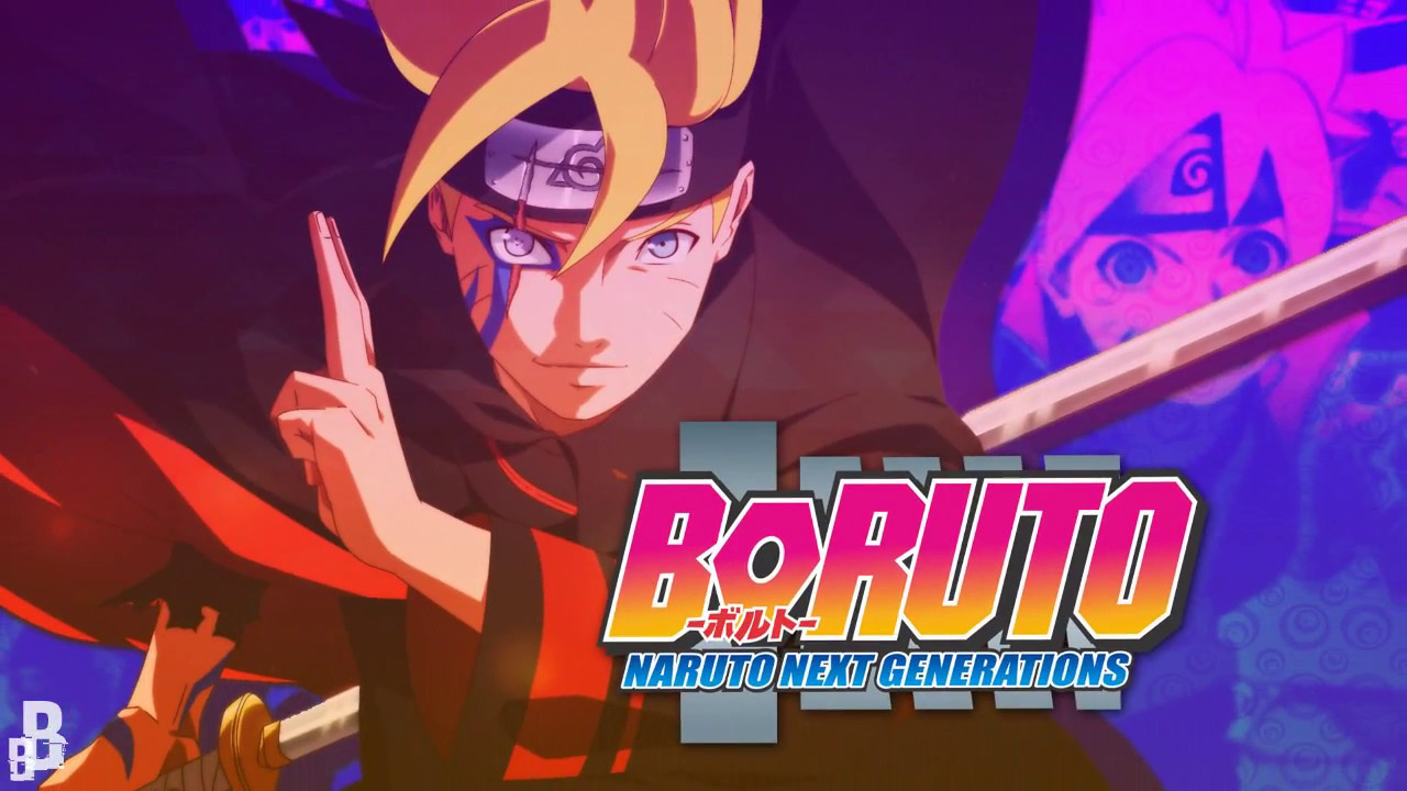 Wallpaper Boruto Speed Art 4