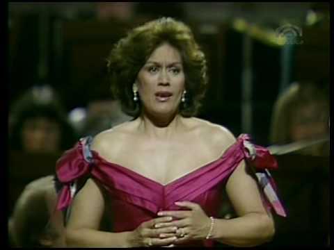 """Dame Kiri Te Kanawa sings """"Im Abendrot"""" - Vier Letzte Lieder - Richard Strauss"""