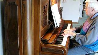 """Got a Date With an Angel"" piano solo by Wally Krauss"