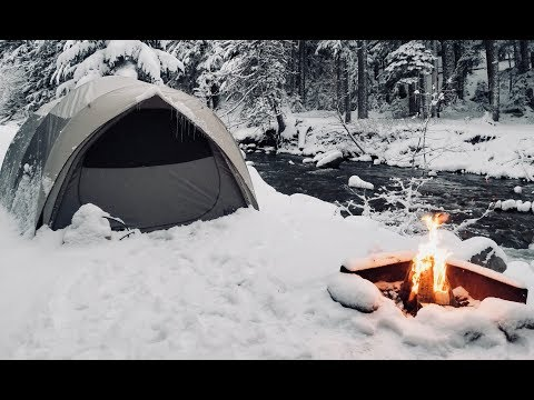 Winter Car Tent Camping in Snow - How I Stay Warm