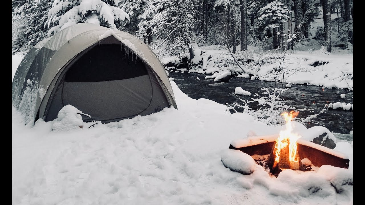 Winter Car Tent Camping In Snow How I Stay Warm Youtube