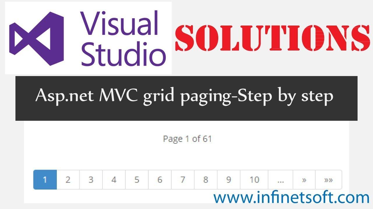 Asp  net mvc grid paging example