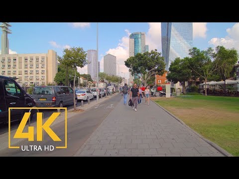 city-walk-through-tel-aviv-yafo,-israel---4k-walking-tour-with-city-sounds