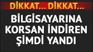SAKIN CRACK (KORSAN) OYUN İNDİRMEYİN!!!