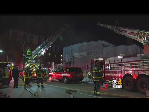 4-Alarm Fire Rips Through East Boston Warehouse