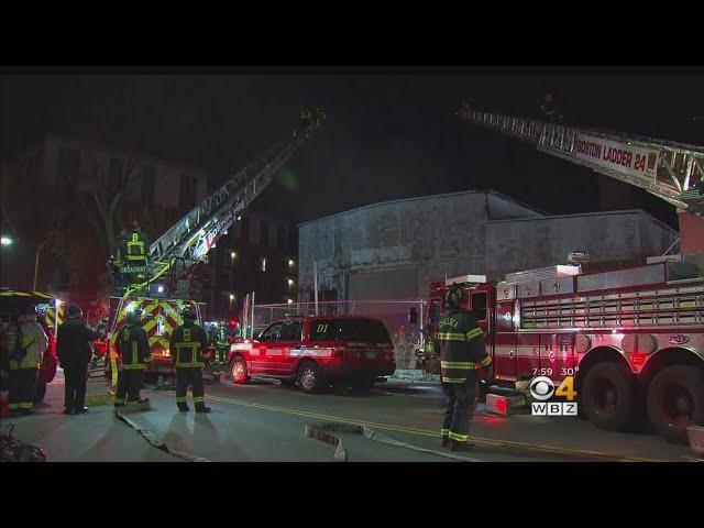 4 Alarm Fire Rips Through East Boston Warehouse Boston Boston Informer