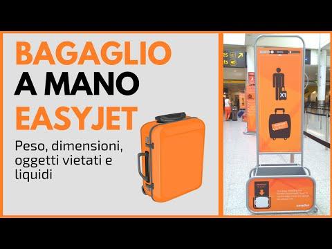 bb8c32410a Bagaglio a mano EasyJet: misure, peso, dimensioni, liquidi, numero di colli