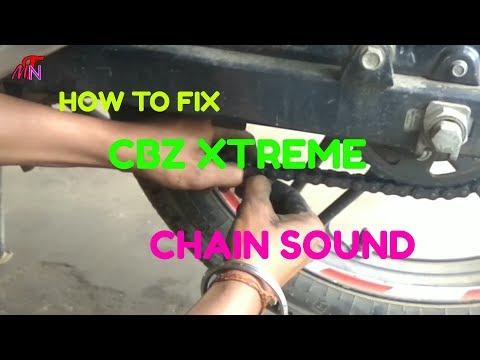 HOW TO FIX CBZ XTREME CHAIN SOUND
