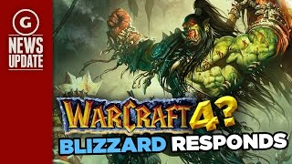 "Blizzard Say Warcraft 4 And StarCraft 3 Development ""Depends On the Players"" - GS News Update"