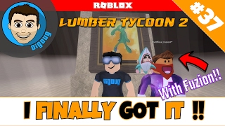 Roblox Lumber Tycoon 2 : Ep 37 : Collab with Fuzion!! Finally got into the temple!!