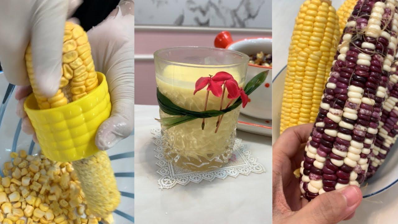 TỔNG HỢP TIKTOK Cách làm Sữa Bắp / Bánh Bắp Chiên / Bắp Xào từ 5 trái bắp
