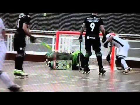 Hóquei Patins :: 12J :: Sporting - 9 x Turquel - 4 de 2015/2016