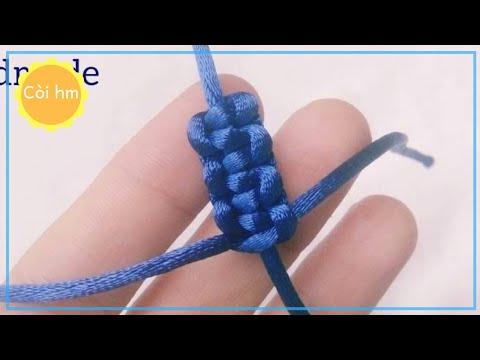 Cách Làm Nút Thắt Cơ Bản 2   Còi hm Vòng handmade