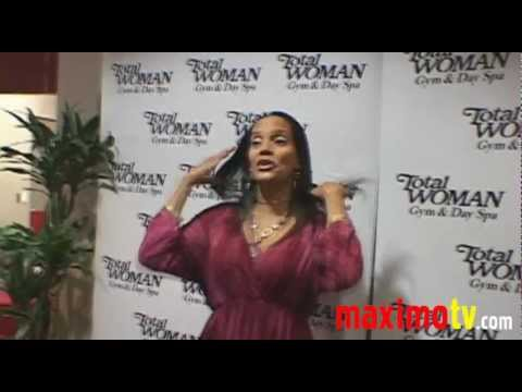 Shari Headley at Total Woman Gym & Day Spa's 44th Anniversary Celebration
