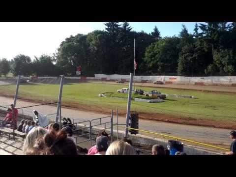 River City Speedway - St. Helens Oregon 06/15/2013 4 Cylinder Trophy Dash